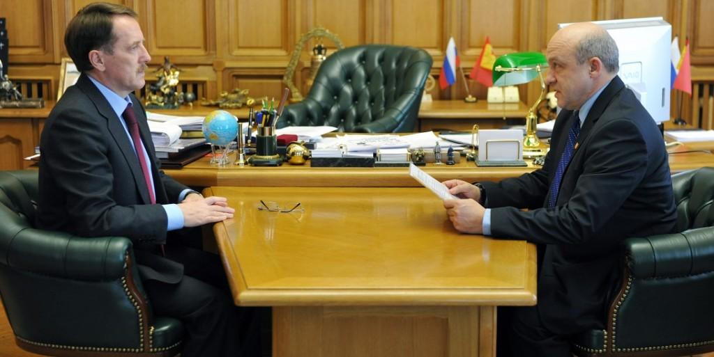 Рабочая встреча губернатора Воронежской области с Балбековым