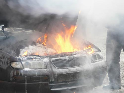сгорел автомобиль хреновое