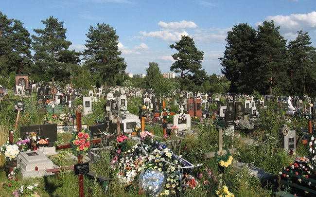 кладбище слобода