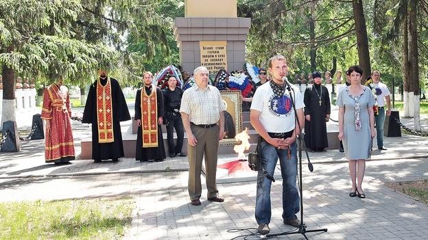 православный мотопробег Бобров