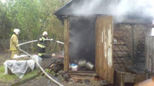 сгорел сарай тройня