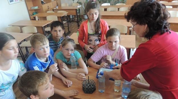 в Бобровской СОШ № 2 открылась Лесная школа
