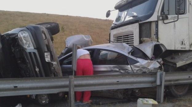 авария в Боброве на М4