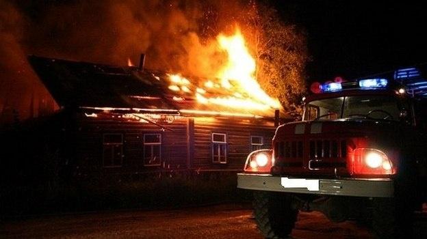 пожар в Митрофановке Бобров