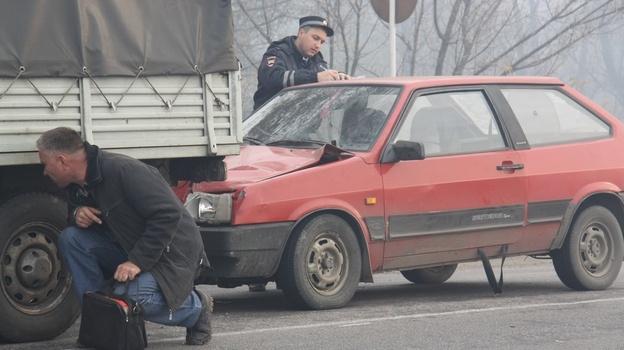 авария из-за дыма в Боброве