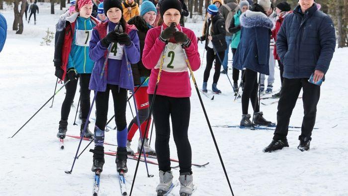 лыжники боброва