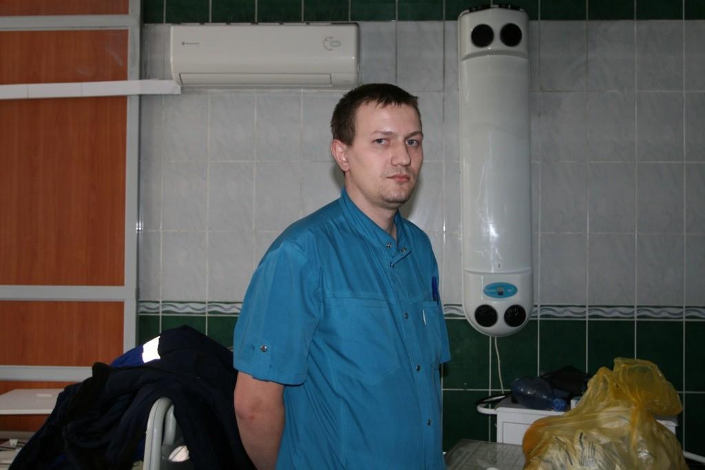 Главный врач Бобровской районной больницы Виталий Иванов
