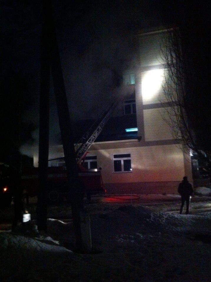пожар в больнице бобров март 15