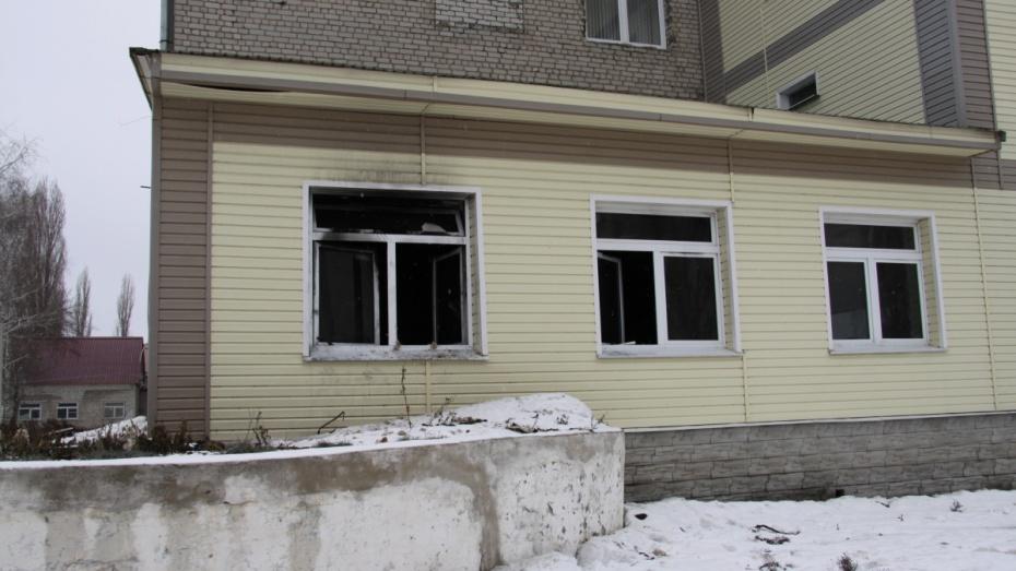 пожар в больнице бобров март 2015