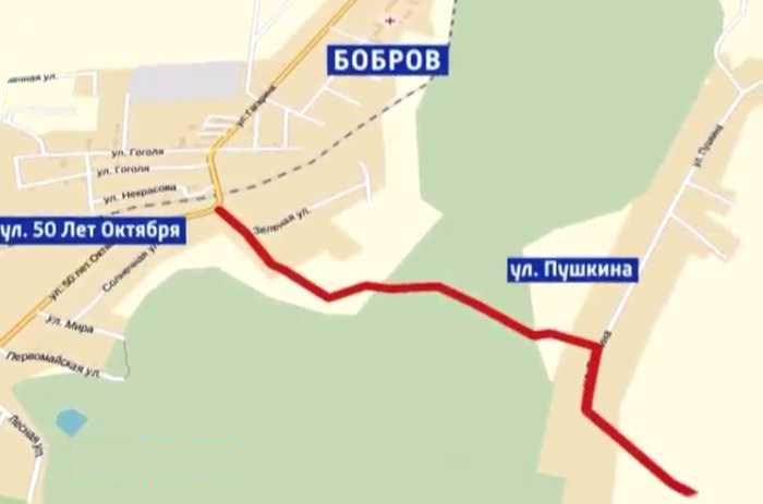 объездная дорога Бобров